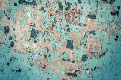 Old textured colorful wall with stains Stock Images