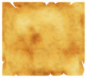 Old textured paper. With tattered edges - retro background Royalty Free Stock Photo