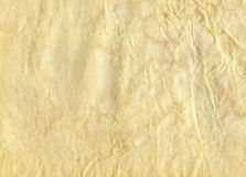 Old textured paper. Background. Close-up Royalty Free Stock Photo