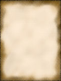 Old Textured Paper Background. Old, cream colored textured paper background with darkened edges and mold spots throughout Royalty Free Stock Images