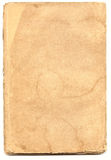 Old textured paper with decrepit edge. On white Royalty Free Stock Photography