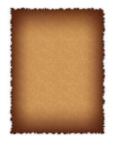 The old textured paper page Royalty Free Stock Images