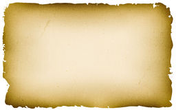 Old Textured Parchment Background Stock Photography