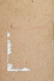 Old textured plywood Stock Image