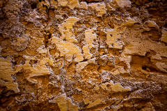Old textured stone wall background Stock Photography