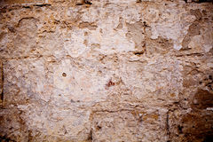 Old textured stone wall background Stock Photo