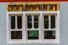 Old textured window Royalty Free Stock Photography