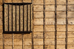 Old textured wood background. Photo of the wood siding of a house that would make a good background. The wood is new but had been burned to give the appearance stock image