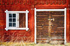 Old 17th century barn exterior Stock Images