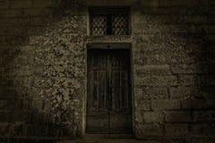 An 18th Century Door stock photos