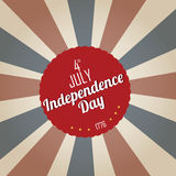 Old 4th july Royalty Free Stock Photos