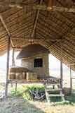 Old Thai Barn, lanna style Royalty Free Stock Photo