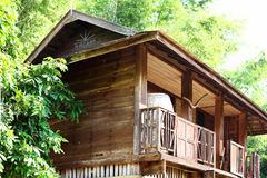 Old Thai barn was built since 1957 Royalty Free Stock Photography