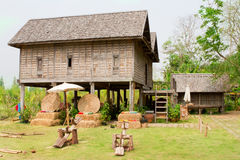 Old Thai House Royalty Free Stock Image
