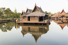 Old Thai House Royalty Free Stock Photography