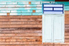 Old Thai House in Rural royalty free stock photography