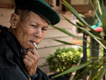 Old Thai Man Stock Image