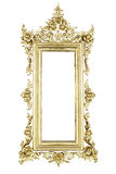 Old Thai style  frame pattern Royalty Free Stock Photos