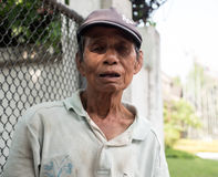 Old Thai Taxi Driver Man Royalty Free Stock Image