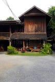 Old thai teak house Stock Photography