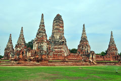 Old thai temple Stock Photography