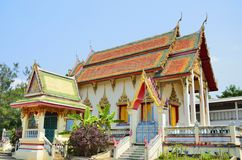 Old thai temple Royalty Free Stock Images