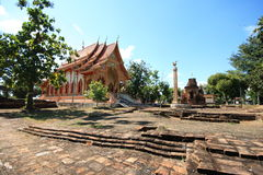 Old thai temple Stock Image