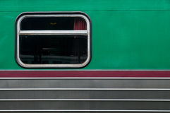 Old Thai train window Royalty Free Stock Photography