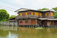 Old Thai wooden house Royalty Free Stock Photography
