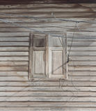 Old Thailand Style wooden window Royalty Free Stock Photography