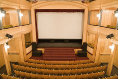 Old theater stock photography