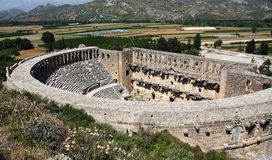 Old theater Aspendos Stock Photos