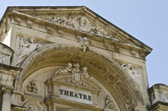 Old theater in Avignon Stock Images