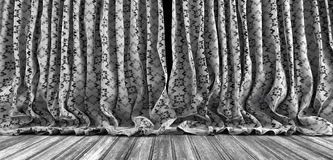 Old theater curtains background Royalty Free Stock Photography
