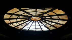 Old theater dome Royalty Free Stock Images