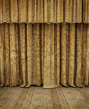 Old theater empty stage royalty free stock images