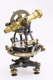Old theodolite Stock Images