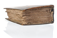 Old thick book. Royalty Free Stock Photo