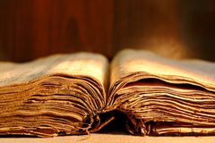 Old thick book Royalty Free Stock Photo