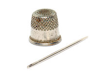 Old thimble Royalty Free Stock Images