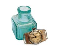 Old things. The time for them has stopped Stock Photography