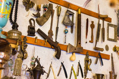 Old things in Junk shop Royalty Free Stock Photo