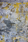 Old threadbare weathered concrete wall texture Stock Images