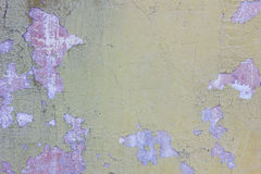 Old threadbare weathered concrete wall texture. Colored by different colors Royalty Free Stock Images