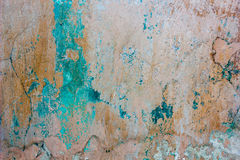 Old threadbare weathered concrete wall texture Royalty Free Stock Images