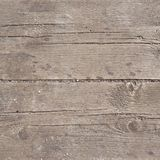 Old threadbare wooden surface Stock Image