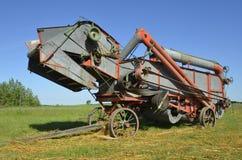 Old threshing Machine Royalty Free Stock Image