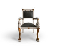 Old throne chair Royalty Free Stock Photos