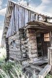Old thrown rural hut Stock Image