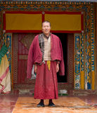 Old tibetan monk Royalty Free Stock Photography